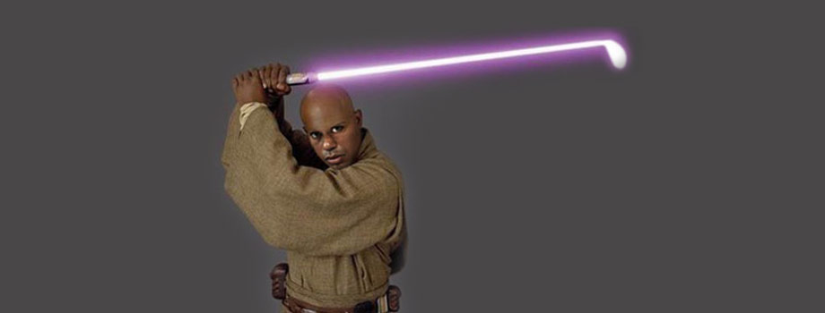 Tiger Woods Jedi Knight