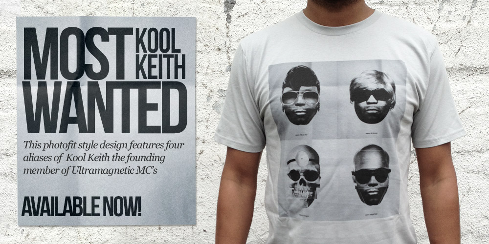 Kool Keith - Photofit TShirt