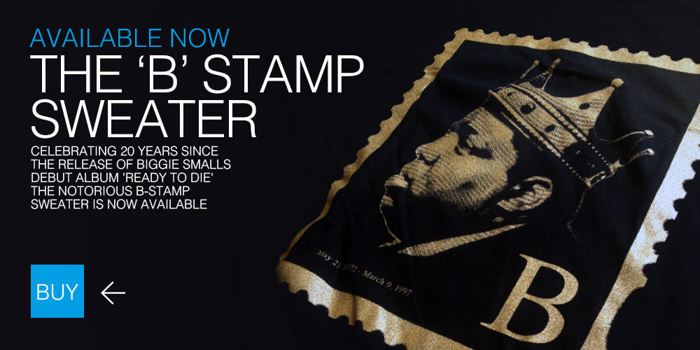 Biggie Smalls Stamp