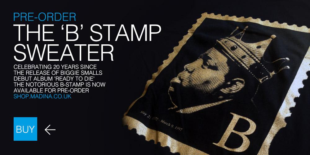 Notorious B Stamp