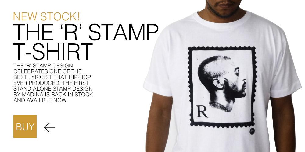 Rakim R Stamp