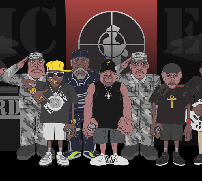 Public Enemy Illustration