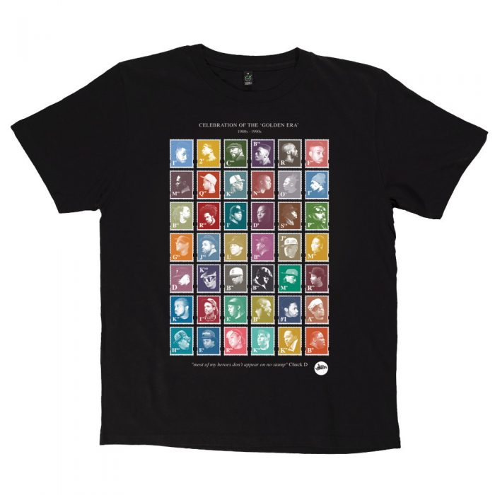 Black HipHop Stamps TShirt