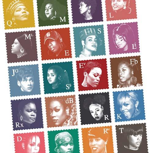 Queen HipHop Stamps