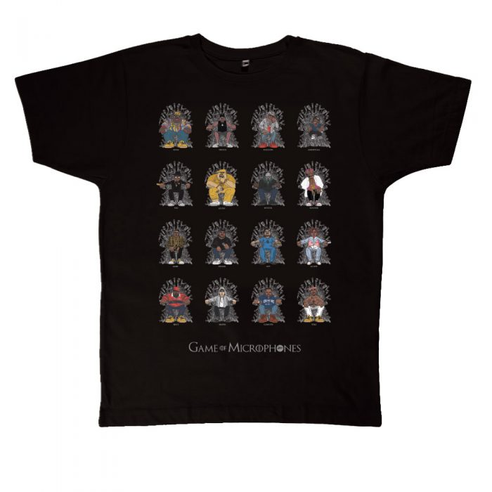 Game of Microphones TShirt