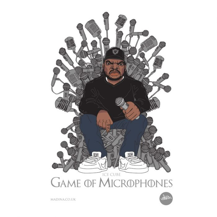 Game of Microphones by Madina