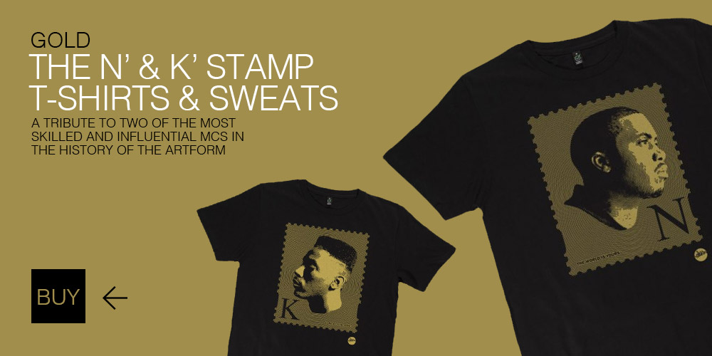Nas & Kane Stamp T-Shirts and Sweaters by Madina Design