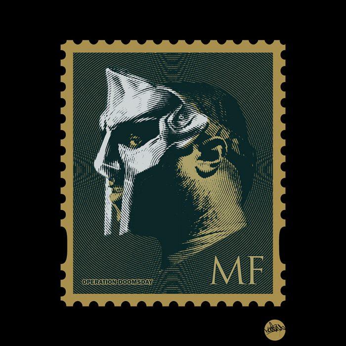 MF DOOM Stamp