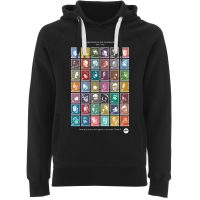HipHop Stamps Hoodie by Madina